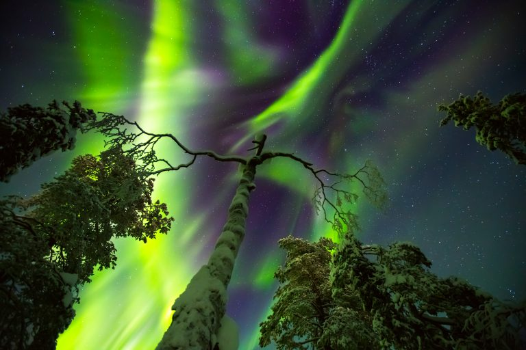 Northern lights/Finnish Lapland